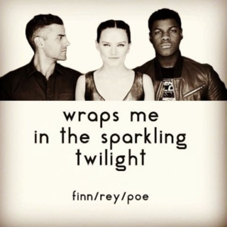 wraps me in the sparkling twilight