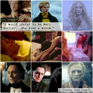 I would prefer to be Mary Shelley...she died a widow