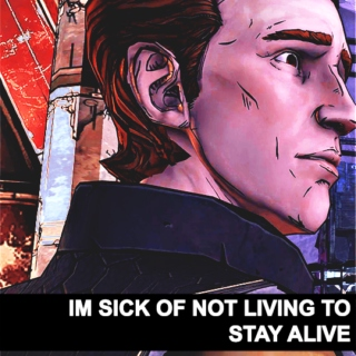 im sick of not living to stay alive