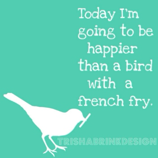 A Bird With A French Frie