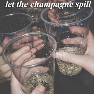 let the champagne spill [new year's eve party playlist]
