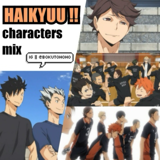 Haikyuu!! collection ☆゚.*・。゚