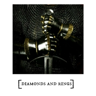 diamonds and rings