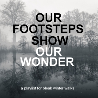 our footsteps show our wonder