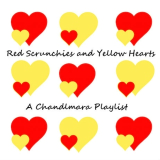 Red Scrunchies and Yellow Hearts