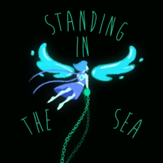 Standing In The Sea