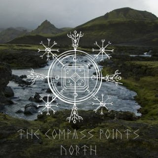 The Compass Points North