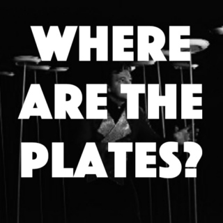 Where have all the plates gone?