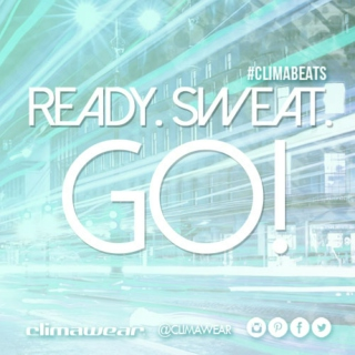 Ready. Sweat. GO!