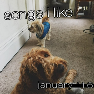 songs i like 01.16 (january)
