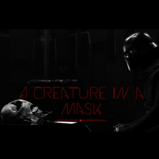 a creature in a mask