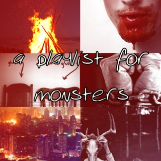 a playlist for monsters