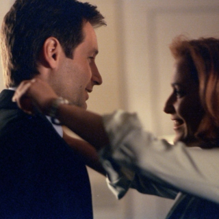 touchstone - mulder and scully