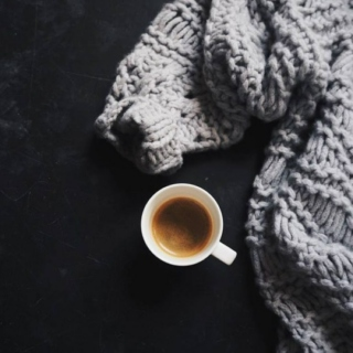 Winter chill & coffee