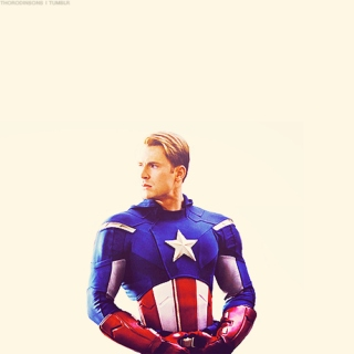 In love with Steve Rogers