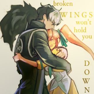 broken wings won't hold you down