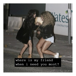 where is my friend when i need you most? [caminah, pt. 2/2]