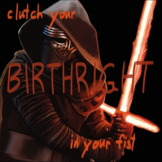 clutch your birthright in your fist