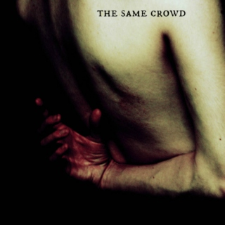 the same crowd