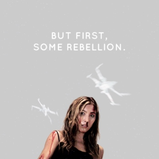 but first, some rebellion.