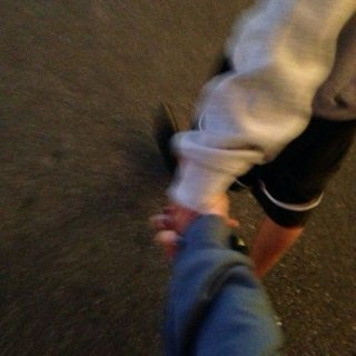 hold my hand and never let me go because i am so tired of being alone