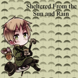☀ sheltered from the sun and rain ☔