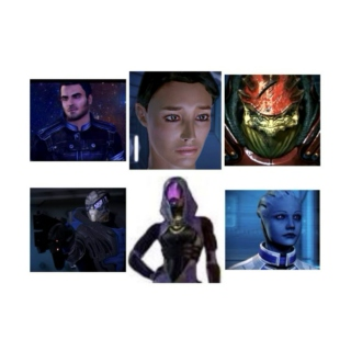 The Squad, Mass Effect 1 Version