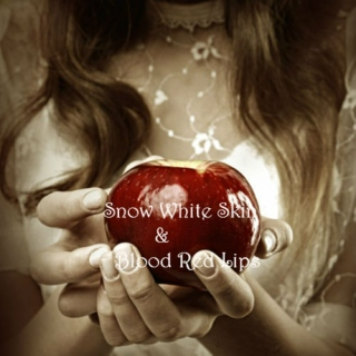Snow White Skin & Blood Red Lips