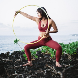 The Hula Hoop Girl Elemental Hoop Dance Water Element