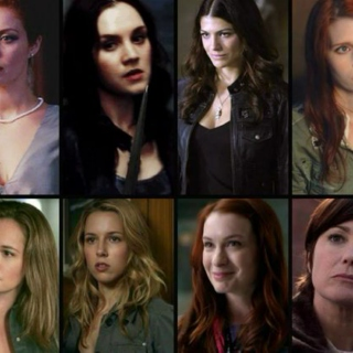 The ladies of supernatural