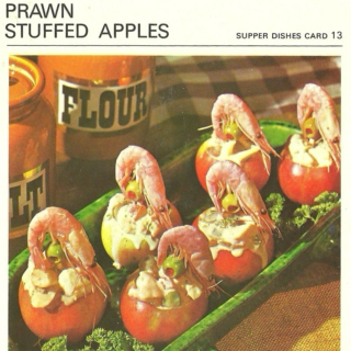 Prawn Stuffed Apples