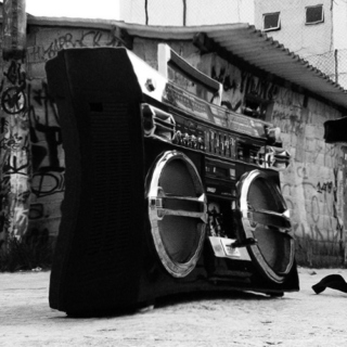 Misty Ghettoblaster