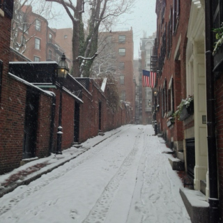 boston snow day