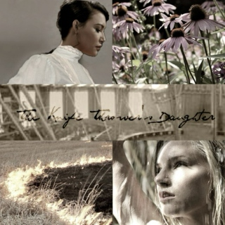 the knife thrower's daughter || a brittana au playlist