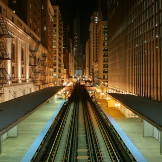 "Late Night Bumpin on the ""L"""