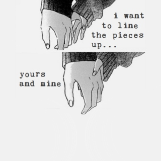 i want to line the pieces up... yours and mine.