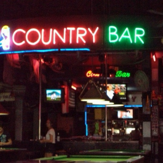 Night at the Country Bar