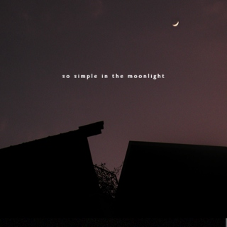 so simple in the moonlight
