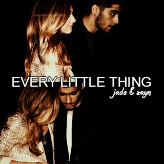 every little thing || jade & zayn