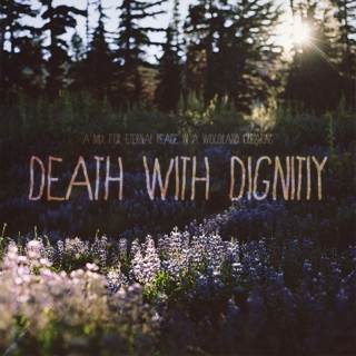 Amethyst and Flowers (Death With Dignity)