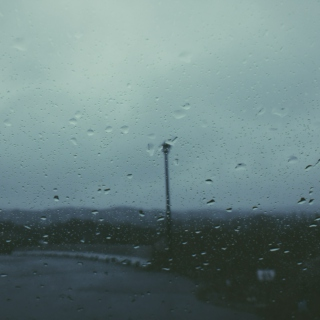 Rain is the sky's way of crying