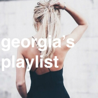 georgia's playlist