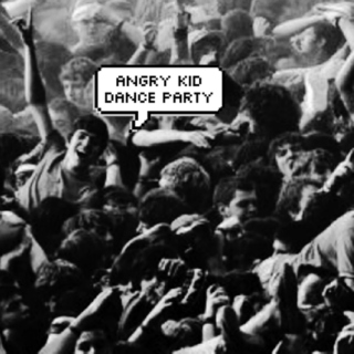 angry kid dance party