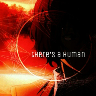 there's a human