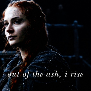 out of the ash, i rise