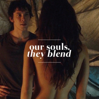 our souls, they blend