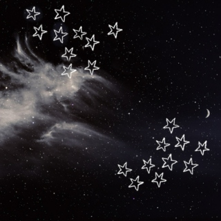 sleepless nights; star-filled skies