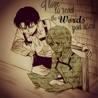 [ I love to read the Words you used ]