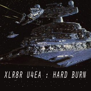 XLR8R U4EA : HARD BURN