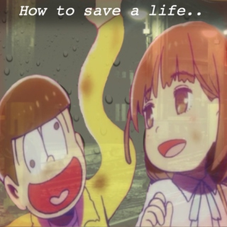 How to save a life.. (a Jyushimatsu x Homerun-chan/Homura mix)